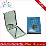 Custom Logo Square Aluminum Cosmetic Makeup Portable Mirror