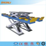 Under Ground Recessed Install Scissor Lift with Ce Approvel