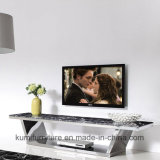 Hot Sale Modern Style TV Stand with Tempered Glass