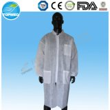 Cotton Coat for Doctor Short Sleeve Lab Coats Wholesale