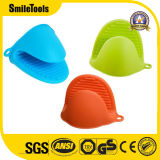 Silicone Heat Resistant Cooking Pinch Mitts Mini Oven Mitts Gloves Cooking Pot Holder and Potholder for Kitchen