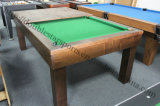 2 in 1 Pool Dining Table Carom Billiard Table for Sale
