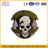 2016 New Design Custom Souvenir Metal Badge with Skull Logo