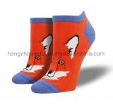 Lovely Fox Patten OEM Dress Fashion Ankle Sock