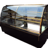 China Commercial Glass Door Marble Cake display Freezer Refrigerator