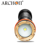 Hot Sale Ce&RoHS Archon W17V-II 1200 Lumens Wide Angle Photographing Snoot Macro Photography Scuba Diving Flashlight Dive Torch for Macroshot