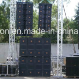 Vt4888 Dual 12 Inch 3 Way Line Array, Outdoor Stage Speakers, PRO Audio