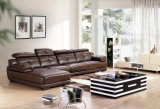 Modern Wholesale Leather L Shape Office Sofa (UL-NSC034)