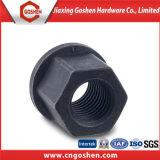 Black Hexagon Collar Nuts DIN6331