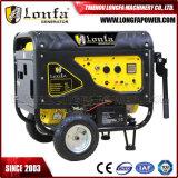 Portable 6kw 7kVA Power Petrol Silent Gasoline Generator with Wheels