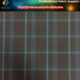 300d Brushed Polyester Yarn Dyed Check Fabric for Coat