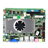 Fanless Industrial Motherboard with Intel Atom D525 1.8GHz CPU