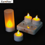 LED Candle Rechargeable Lighting Yellow Light