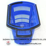 Hot Sale Colourfull Rolling Shopping Baskets