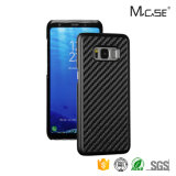 Top Quality Glossy Carbon Fiber Flexible TPU Back Case Cover for Samsung S8