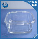 Round Large Lead Free Transparent Glass Bowl