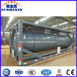 Chemical Liquid Tank Container Corrosive Tanker Transportation 20cbm Tanker Container