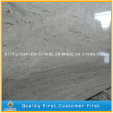 Polished India River White Granites Slabs for Countertops and Tiles