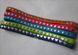 Polyester Woven Elastic Headband with Metal Studs (DHW01391)