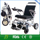Jbh New Magnesium Alloy Folding Portable Power Lithium Battery Electric Wheelchair