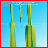 Yellow Green Identification Thin Wall Heat Shrinkable Tube