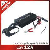 12V 12A Automatic 3 Stage Battery Charger with Full Range Input Voltage
