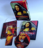 CD DVD Replication with Paper Book Packaging Service