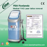 High Power Q-Switch ND YAG Laser Tattoo Removal Machine