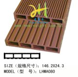 146*23mm WPC Decking with CE & Fsc Certificate