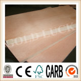 2mm 4.5mm Red Bintangor Plywood /Okoume Plywood / Walnut Plywood