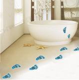 Best Quality Self Adhesive Waterproof Bathroom Footprint Floor Sticker