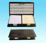 Notepaper Box with Calendar
