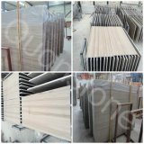 Chinese White Athens Grey Wooden Marble Flooring