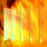 Fire Rated Glass (FRG) with Ce Hot Selling