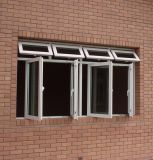 Powder Coating Aluminum Casement Window Awning Window with Glass