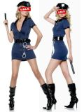 Hot Sale Police Costume Dress (A7342)