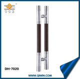 Stainless Steel 304 and Wood Material Door Pull for Glass Door (DH-7020)