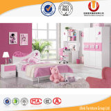 Wholesale High Quality Wooden Children Bedroom Furniture Bed (UL-H890)