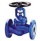 Cast Steel and Cast Iron Bellow Sealed Globe Valves