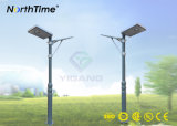 8W Integrated Outdoor LED Solar Garden Light with Motion Sensor