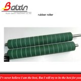 Rubber Roller on Plastic Bags Making Machine