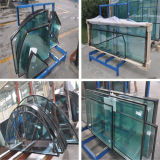 6+9A+6mm Flat Clear Insulated Glass for Building with Different Shapes