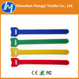 Self-Locking /Adjustableprinted Logo Hook & Loop Velcro Cable Ties