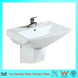 Wall-Mounted Diamond Serise Shaped Lavatory Basin