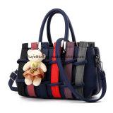 Fashion Colorful PU Leather Cheap Lady Tote Handbag (FTE-076)