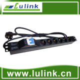 Industrial Rack Mountable Power Strip PDU for Network Cabinet