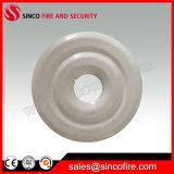 Fire Sprinkler Chrome/White Escutcheon Plate