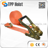 Factory Supplier Ratchet Tie Down Straps 5ton Cargo Lashing Belt