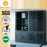 Modern High Quality Leather Book Cabinet (G07)