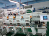 Commercial Embroidery Machine Computerized 4 Head for T Shirt and Football Jersey Embroidery